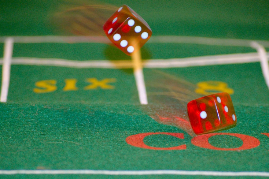 An author trying for a traditional publishing deal is rolling the dice. What are the odds? [Photo: mkw87 (Creative Commons)]