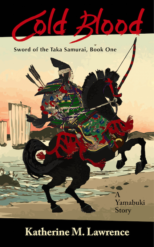 Cold Blood (Sword of the Taka Samurai, Book One) Sixteen-year-old Taka Yamabuki, royal by birth, but samurai by training, embarks upon her first mission: to deliver important dispatches to the capital.
