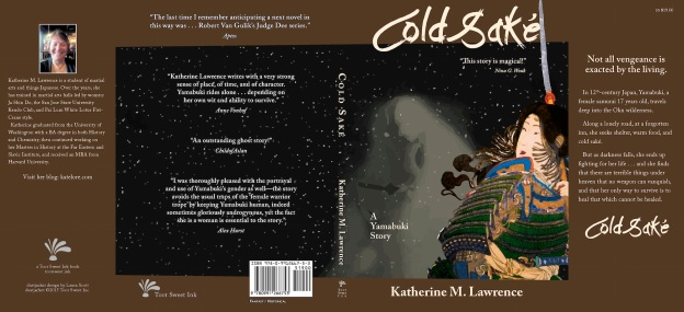 The full dustjacket for Cold Saké.